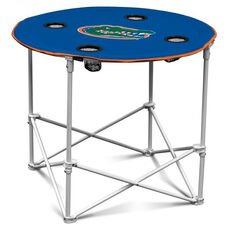 University of Florida Team Logo Round Folding Table