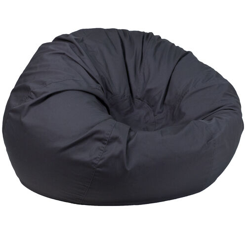 Our Oversized Solid Gray Bean Bag Chair for Kids and Adults is on sale now.