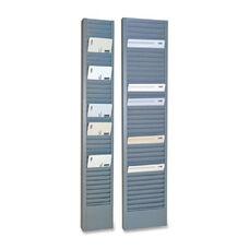 Steelmaster Vertical Swipe Card Rack - 18.7