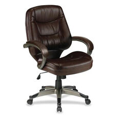 Lorell Managerial Mid - Back Chair - 26 -1/2