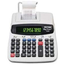 Victor Technology 10 Digit Calculator - Thermal Printing - 7 3/4