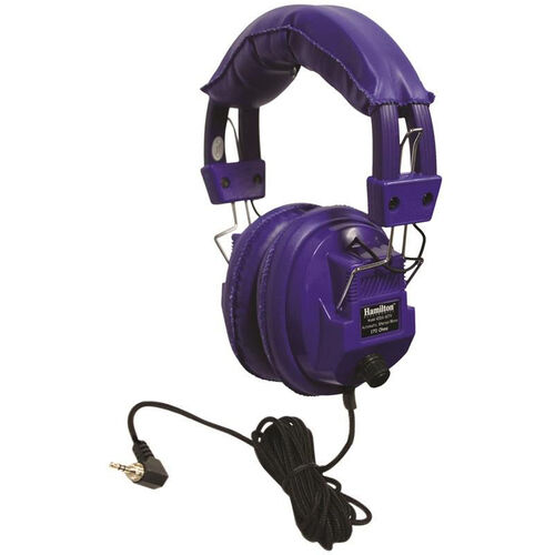 Our Kids Blue Deluxe Stereo/Mono Headphone with 1/8