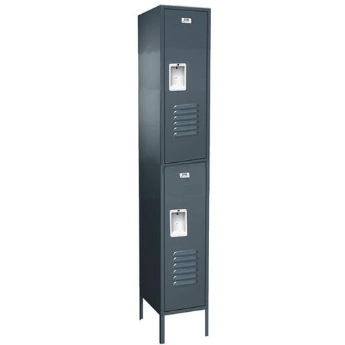 Traditional Series Double Tier Powder Coated Steel Starter Locker with Recessed Handle