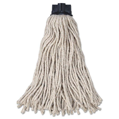 Our Rubbermaid® Commercial Replacement Mop Head For Mop/Handle Combo - Cotton - White - 12/Carton is on sale now.