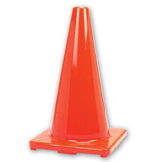PVC Stackable Game Cone with Weighted Bottom