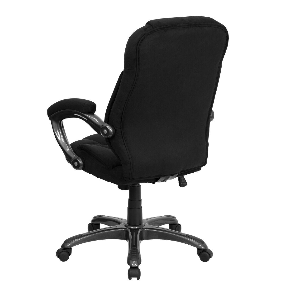 Black High Back Chair Go 725 Bk Gg Bizchair Com