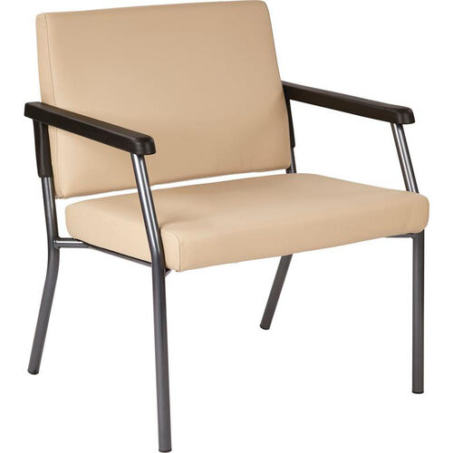 Our Work Smart Bariatric Big & Tall Guest Chair with 400 lb. Weight Capacity - Dillion Buff Antimicrobial Vinyl is on sale now.