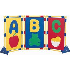 Multicolor Alphabetical Item Playpanel Set - 48