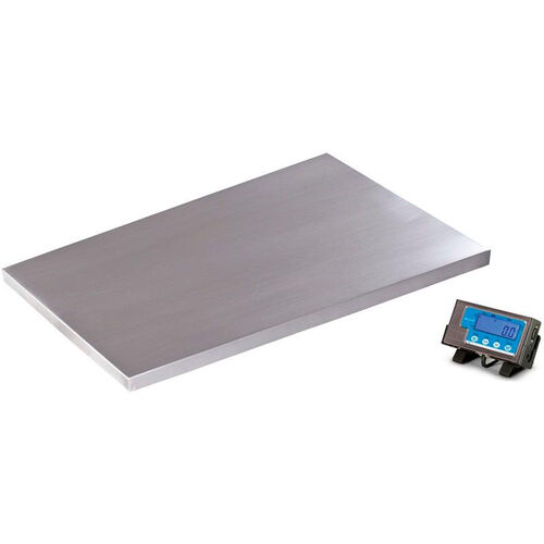 Our 500lb Capacity Floor Scale with Stainless Steel Platform - 36