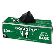Litter Pick Up Bags - 20 Roll Case