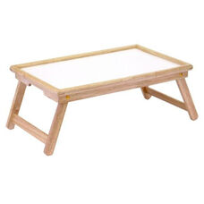 Breakfast Bed Tray with Notched Handle