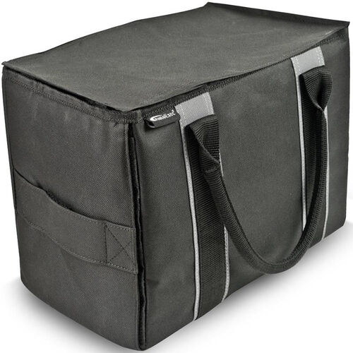 Our Durable Mini File Tote - Black and Grey is on sale now.