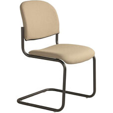 Seatwise Sled Base Side Chair with Sculptured Seat and Back - Set of 2