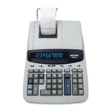 Victor Technology 10 Digit Printing Calculator -2 Clr. -9