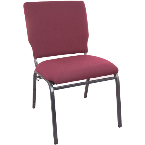 Our Advantage Maroon Multipurpose Church Chairs - 18.5 in. Wide is on sale now.