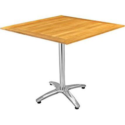 Our Square Teak Outdoor Table With Spider Base Is On Sale Now.