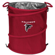 Atlanta Falcons Team Logo Collapsible 3-in-1 Cooler Hamper Wastebasket