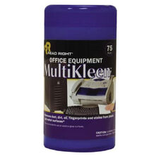 Read/Right Office Equipment Multikleen Wipes - Pack Of 75