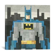 Batman by Adam Lister Gallery Wrapped Canvas Artwork