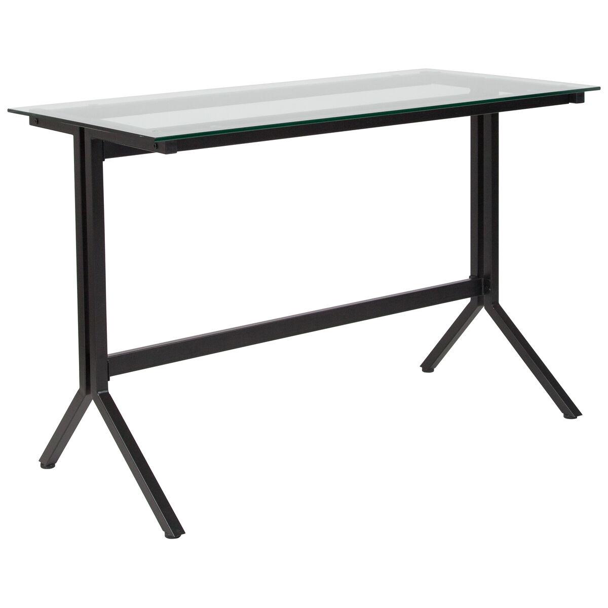 Flash Furniture Highland Collection Glass Computer Desk