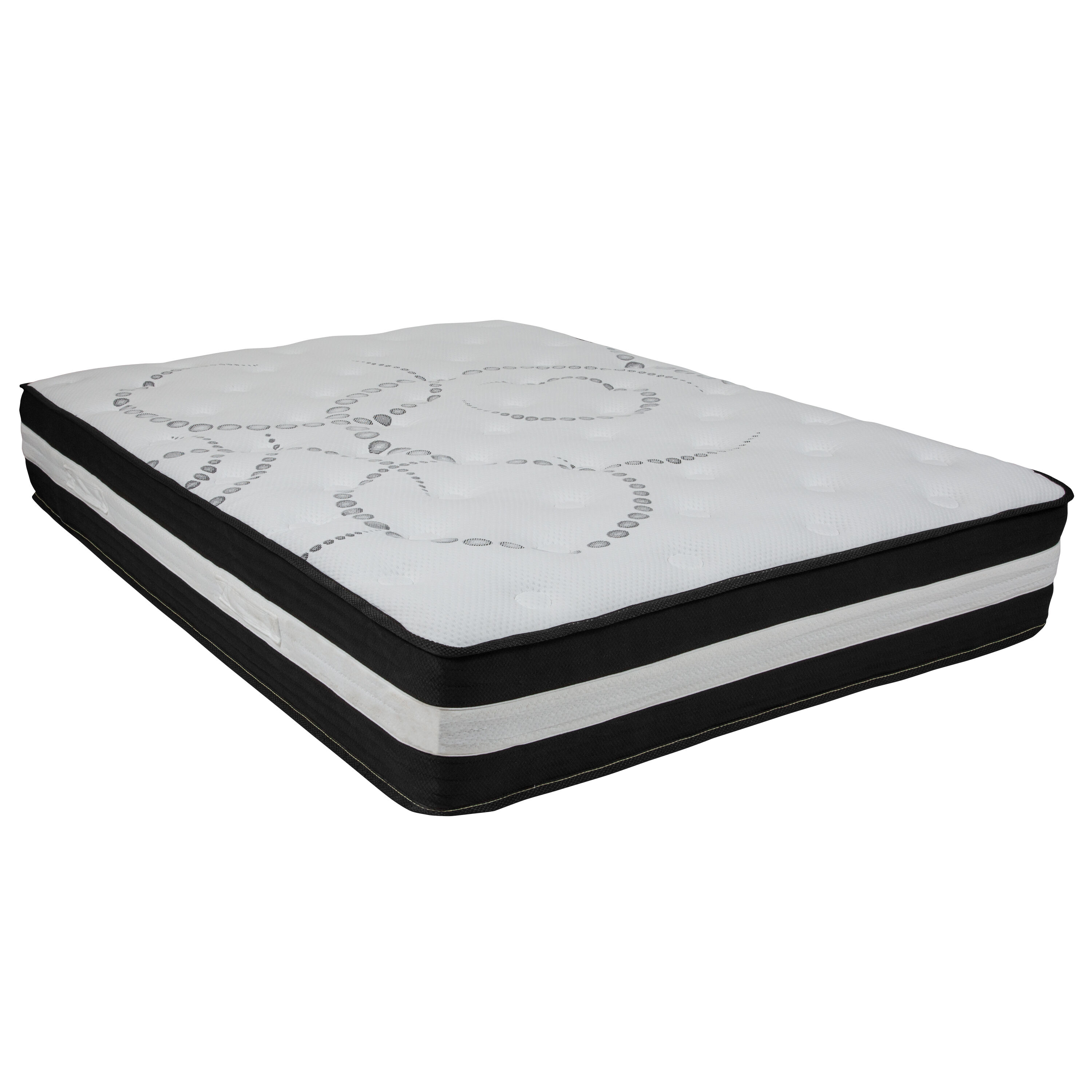 Our Capri Comfortable Sleep 12 Inch Foam And Pocket Spring Mattress, Full  In A Box