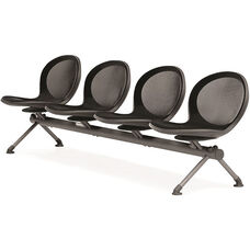 Net 4 Seat Beam - Black