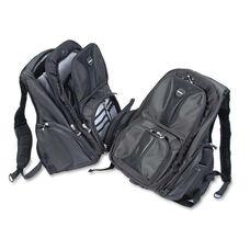 Kensington® Contour Laptop Backpack - Nylon - 15 3/4 x 9 x 19 1/2 - Black