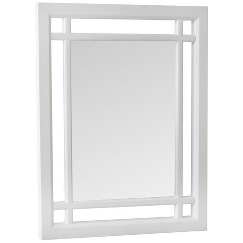 Neal Mirror - White