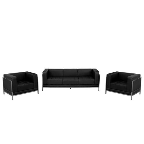 Our HERCULES Imagination Series Black Leather Sofa & Chair Set is on sale now.