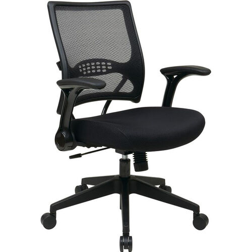 Our Space Dark Air Grid® Back and Mesh Seat Managers Chair with 2-to-1 Synchro Tilt - Black is on sale now.