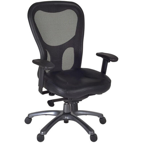 Our Citi Height Adjustable Mesh Back Executive Swivel Chair with Casters - Black is on sale now.