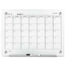 Quartet Infinity Glass Magnetic Calendar Board - 24