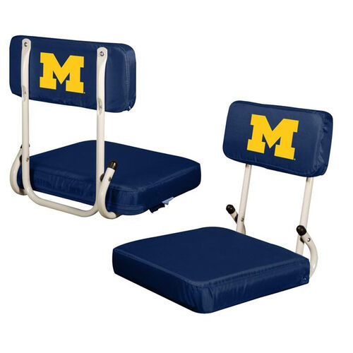 Our University of Michigan Team Logo Hard Back Stadium Seat is on sale now.