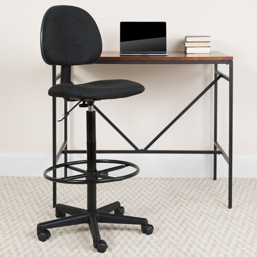 Fabric Drafting Chair (Cylinders: 22.5