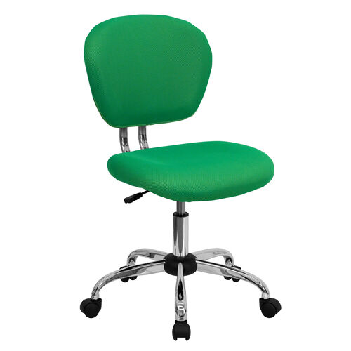 Our Mid-Back Bright Green Mesh Padded Swivel Task Office Chair with Chrome Base is on sale now.