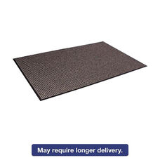 Crown Oxford Wiper Mat - 36 x 60 - Black/Brown