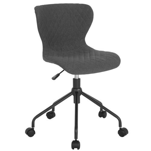 Our Somerset Home and Office Upholstered Task Chair in Dark Gray Fabric is on sale now.