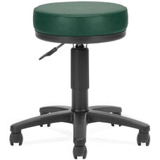 Anti-Microbial and Anti-Bacterial Vinyl UtiliStool - Teal