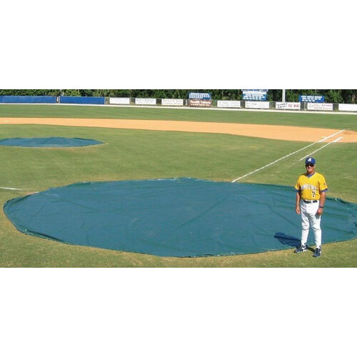 Our 18 oz. Wind Weighted Vinyl and Polyester Field Tarp is on sale now.