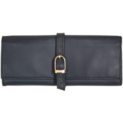 Our Jewelry Roll - Top Grain Nappa Leather - Blue is on sale now.