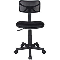 Techni Mobili Mesh Task Chair - Black