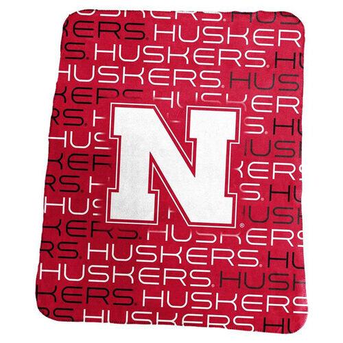 Our University of Nebraska Team Logo Classic Fleece Throw is on sale now.