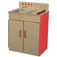 Strawberry Red Pretend Play Healthy Kids Plywood Classic Range - Assembled - 19.5
