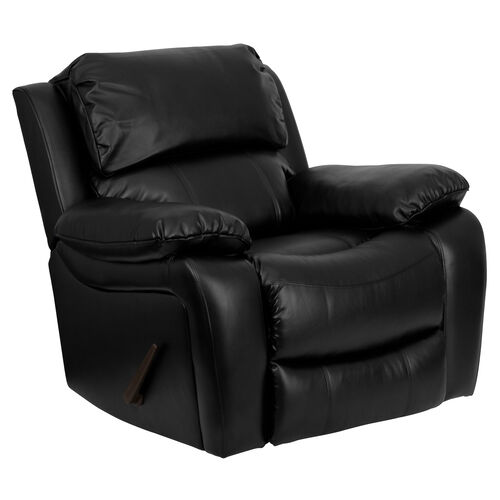 Our Black Leather Rocker Recliner is on sale now.