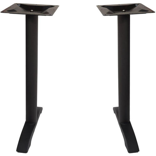 Our Margate End Bases in Black Powder Coat - Set of 2 is on sale now.