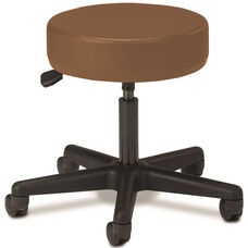Pneumatic Adjustable Medical Stool - Allspice with Black Base