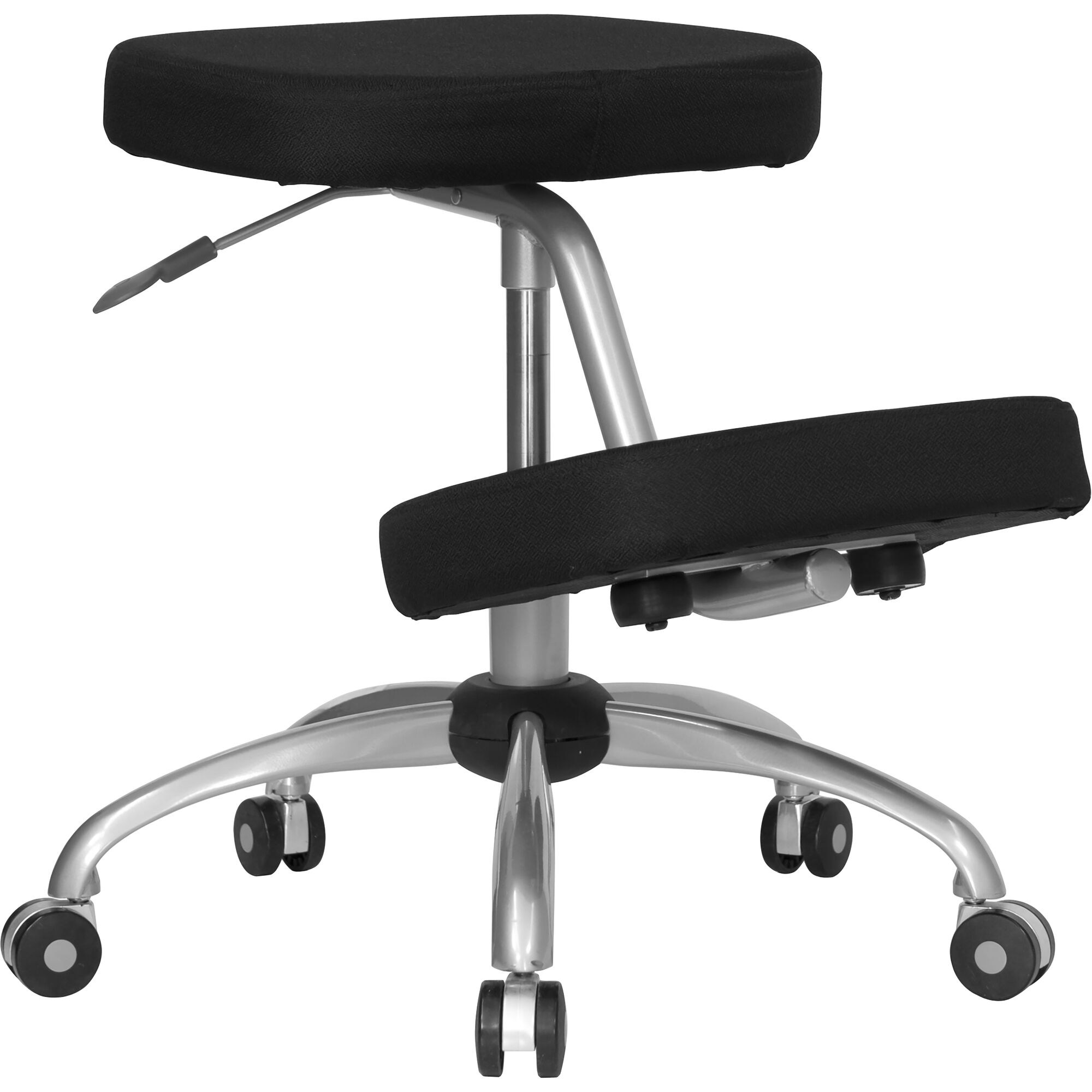 Our Mobile Ergonomic Kneeling Office Chair With Silver