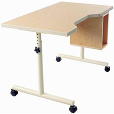 Wheelchair Accessible Work Table with Comfort Curve