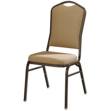 Omega I Premium Comfort Stacking Chair with Curved Rectangular Back