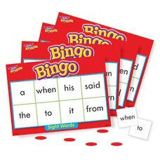 Trend Enterprises Sight Words Bingo Games -46 Practice Words -36 Cards -200 Chips
